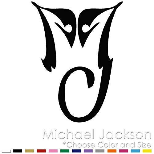 Amazon Com Michael Jackson Pop Star King Monogram Logo Vinyl Decal Sticker Mj 07 Handmade