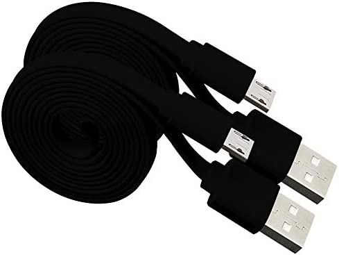 Harper Grove Micro USB Cable 3FT Flat Noodle USB A 2 0 to Micro USB Charger and Sync Cable 2 product image