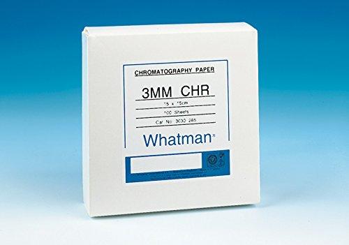 WHATMAN 36348 Papier très épais surface lisse, type 17 Chr haut débit 0,92 mm-débit 190 mm/30 min, Feuilles 46 x 57 cm (Pack de 25)
