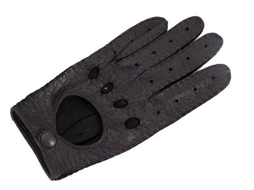 Roeckl Herren Autohandschuhe Peccaryleder, schwarz, Größe: 9,5