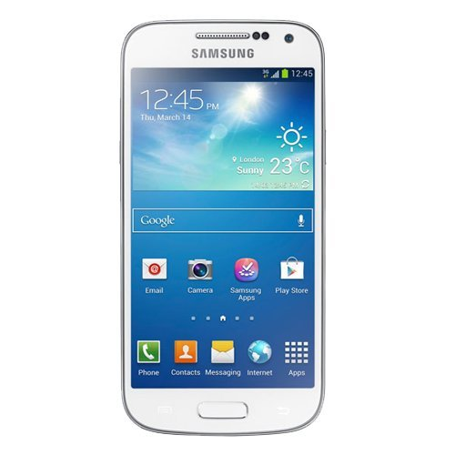 Samsung Galaxy S4 Mini (GT-I9195) - Smartphone libre Android (pantalla 4.3', 540 x 960 Pixeles, Super AMOLED, 1.7 GHz, 8 GB de capacidad, microSD (TransFlash), 1 GB de RAM), blanco