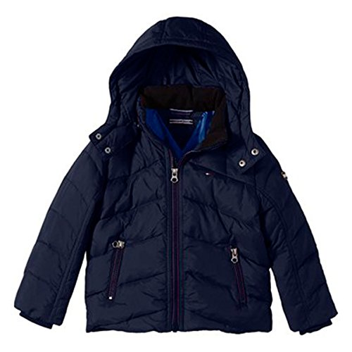 Tommy Hilfiger Kinder Nebraska Down Jacket Jacke, Blau 6 Monate