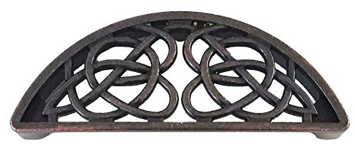 Set of 6 Timeless Celtic Knot Bin Pulls in Oil Rubbed Brass