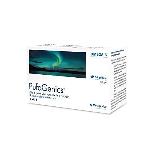 Metagenics Integratore Alimentare Pufagenics Olio di Pesce Controllo Colesterolo, 90 Capsule