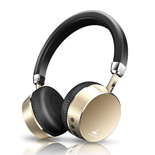meidong E6ANC Noise Cancelling Bluetooth Headphones On-Ear Wireless Headphone with Mic Lightweight 10HS Playing Time for iPhone/iPad/MP3/MP4