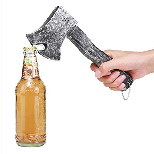 GY-Lmap La Forma del Hacha Cerveza Abrebotellas, Forma de Pistola Creativa Abridor de Botellas Abridor de Botellas de Cerveza para Inicio Bar Fiesta Beber