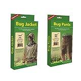 Coghlan's Bug Suit Pants & Jacket Small Black Unisex Lightweight Mosquito Net