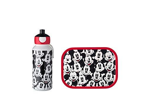 Mepal Juego de Almuerzo, plástico ABS, Mickey Mouse, 2 Partes
