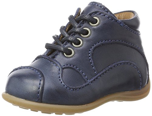 Bisgaard Unisex Kinder Lauflernschuhe Sneaker, Blau (20 Blue), 18 EU