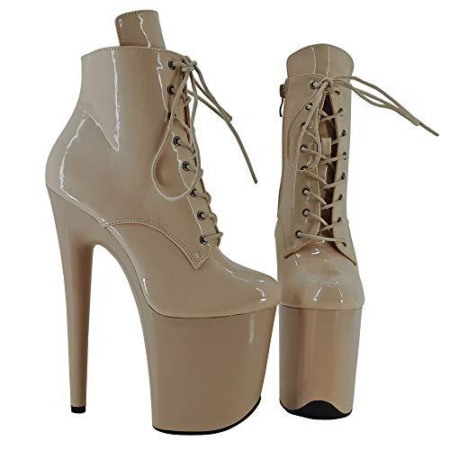 Leecabe - Zapatos de Baile con Plataforma exótica (20 cm)