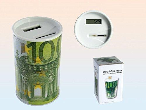 Hucha cuenta-monedas 100 euros