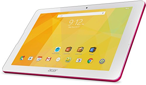 Acer Iconia One 10 (B3-A20) 25,7 cm (10,1 Zoll HD) Tablet-PC (MTK MT8163 Quad-Core, 1GB RAM, 16GB eMMC, Android 5.1 Lollipop) pink