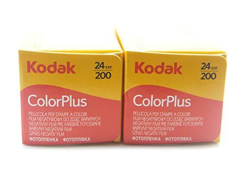 2carretes Kodak Color Plus, 35mm 200/24, Lote de 2unidades, - Película - Carrete - Fotografía