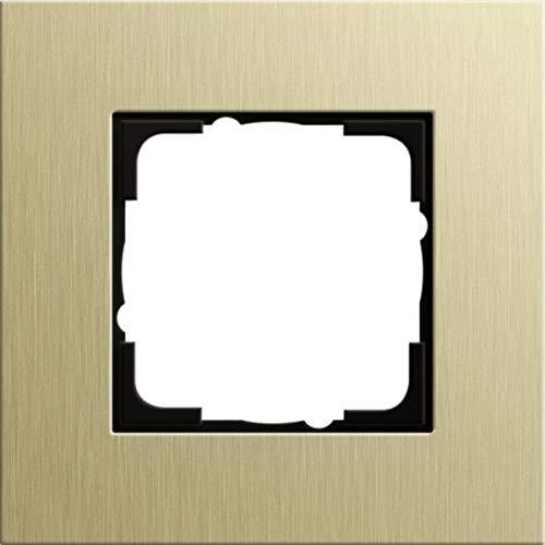 Gira 0211217 Abdeckrahmen Esprit 1-Fach aus Aluminium, hellgold