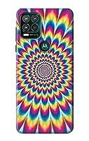 JP3162MS5 カラフルなサイケデリック Colorful Psychedelic For Motorola Moto G Stylus 5G 用ケース