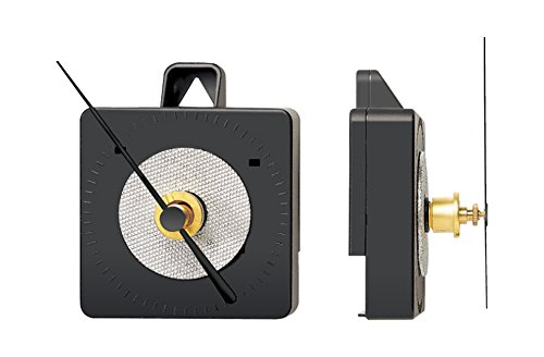 Funkuhrwerk FL für Wanduhr - Zeigerwerklänge (Maß b) 15mm - Zifferblattdicke (Maß a) bis 5mm (ZWL 15,0 mm)