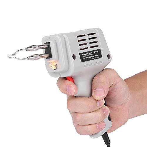 100W elektrisch laspistool handlasapparaat met soldeerdraad en verlichting