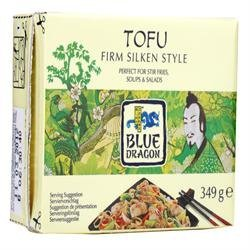 12 Pack of Blue Dragon Tofu Firm Silken Style 349 g