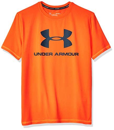 Under Armour Boys UA Big Logo SURF Shirt, Xray, YMD