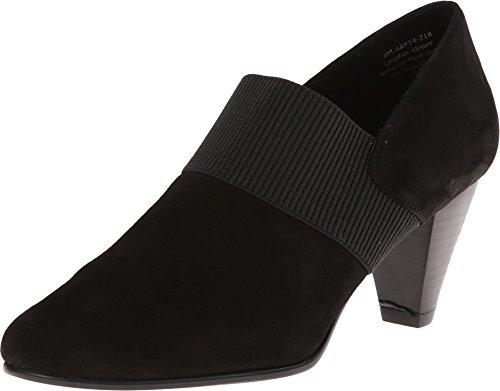 David Tate Citadel Dress Shoe Boots, Black, 8.5 Ww (Ee)
