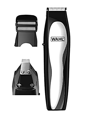 Wahl Beard Trimmer Men, 3-in-1 Hair Trimmers for Men, Nose Hair Trimmer for Men, Stubble Trimmer, Male Grooming Set, Body Trimmer for Men by Wahl