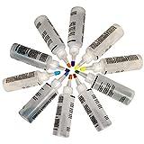 DIY Tie Dye Kit, 10 Colores, Pintura Textil, Juego de Tintes Ambientales de Moda Tejido Multifuncional Tinte Permanente de Graffiti para Camisas, Sombreros, Manteles, Etc.