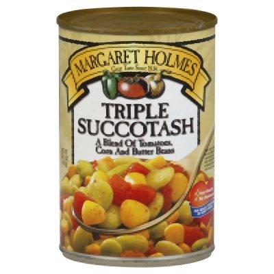 Margaret Holmes, Triple Succotash, 14.5oz Can (Pack of 6)