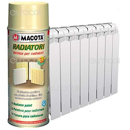 LGVSHOPPING Dose Macota Alte Temperature Heizkörper, Farbe reinweiß für Heizkörper