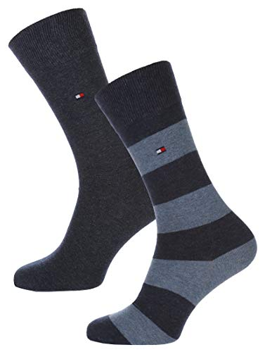 Tommy Hilfiger Rugby Striped Socks 2-Pack Jeans