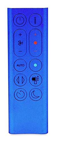 Dyson Remote Control (Blue) for HP04 Hot + Cool Purifying Heater Fan, Part No. 969897-02