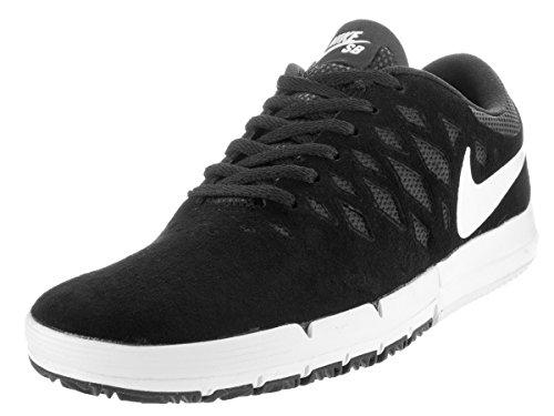 Nike Nike Herren Free SB Skateboardschuhe, Schwarz/Weiß/Schwarz, 40.5 EU