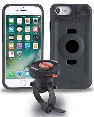 Tigra Sport FitClic Neo - Sistema magnético de Montaje para Bicicleta con Funda y Correa de Montaje para iPhone 6/6S/7/8, iPhone 6/6S/7/8