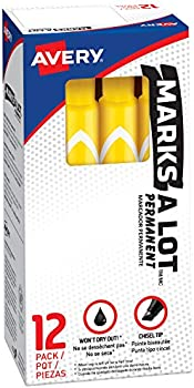 12-Piece Avery Marks-A-Lot Permanent Markers