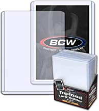 BCW 3X4 Premium Toploader Card Holder - 25ct Pack