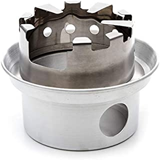 Kelly Kettle Large Stainless Steel Hobo Stove Kit - Stick Stove for Backpacking