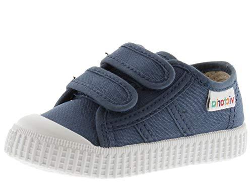 victoria 136606-KIDS 1915 Sneaker Cotone Velcro Flatform Unisex Bambino Jeans 29