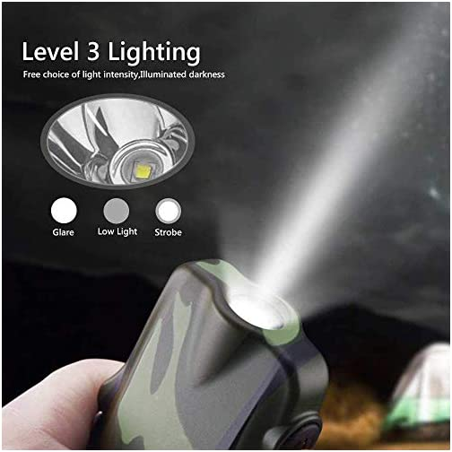 Dual Arc Lighter Rechargeable Waterproof Flameless Windproof USB Plasma Mini Double Electric Lighter with Flashlight Double for Survival Cigar Candle Cigarette (Black) 4