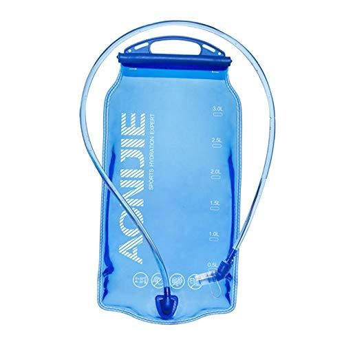 sharprepublic 1-1-1-2-3l BPA Bolsa de Almacenamiento de Agua BPA de hidratación con báscula para Ciclismo Senderismo Mochila de Camping para Correr Deportes al Aire - 1.5L 28x16cm