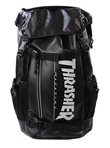 スラッシャー バッグ リュック THRTP502 バックパック かぶせ ダブルベルト サイドメッシュポケット付き デ...