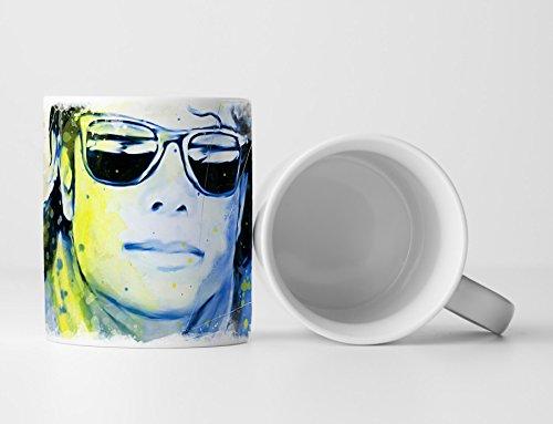 Michael Jackson II Tasse als Geschenk, Design Sinus Art