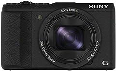 Aparat cyfrowy Sony DSC-HX60 (20,4 megapiksela, 30 x opt. Zoom, wyświetlacz LCD 7,5 cm (3 cale), czujnik Exmor R CMOS, NFC/WiFi) czarny