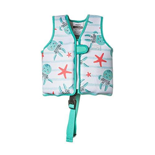 MUNDO PETIT - Chaleco Flotador de Ayuda a la flotabilidad Aprendizaje de la natación, para niños de 10 a 15 kg.(Pulpitos)
