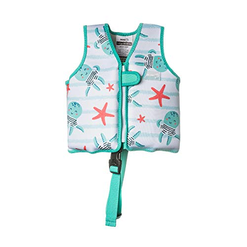 MUNDO PETIT - Chaleco Flotador de Ayuda a la flotabilidad Aprendizaje de la natación, para niños de 11 a 18 kg.(Pulpitos)