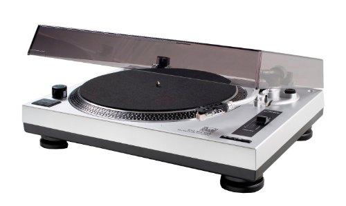 Dual DTJ 301 USB Tourne-disque Noir, Argent