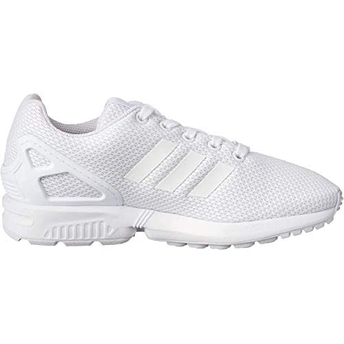 adidas Zx Flux J, Scarpe da Ginnastica Basse Unisex-Bambini, Bianco (Footwear White/Footwear White/Footwear White 0), 37 1/3 EU