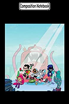 Composition Notebook  n Titans Go! Tentacled Monster Approaches Tank Top Journal/Notebook Blank Lined Ruled 6x9 100 Pages
