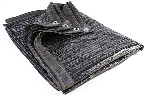 Lanxing Verschlüsselte Shade Net Rechteck Anti-UV Sonnensonnensegel Außenpatio Partei Sonnenschutz Shade Cloth Shading Rate 95% Grommetted (Größe: 4 x 5 M) Größe: 4 x 10M (Size : 3×3M)