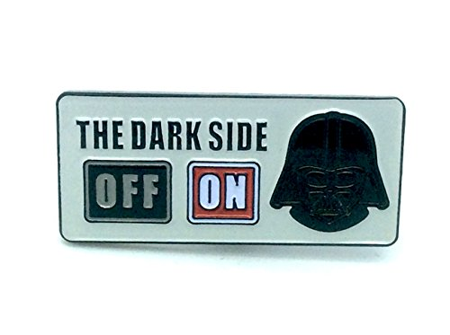 Dark Side Mode On Star Wars Cosplay Metal Pin Badge