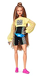 """BMR1959 celebrates the 60-year fashion legacy of Barbara """"Barbie"""" Millicent Roberts with a collection that's all about self-expression and personal style. Bold, fully poseable BMR1959 dolls capture what's trending in streetwear, from high-low fashion..."""