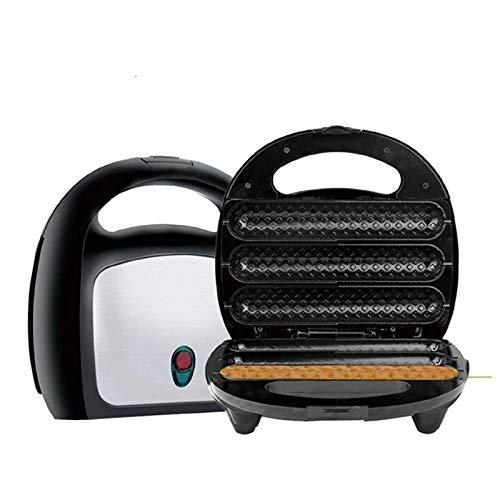 YFGQBCP Máquina para Perros de maíz de maíz Non-Stick Máquina de Salchicha a la Parrilla Máquina de Desayuno Máquina de asado de jamón asado, Acero Inoxidable